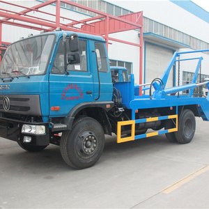 2019 new Dongfeng swept-body refuse collector compact garbage trucks