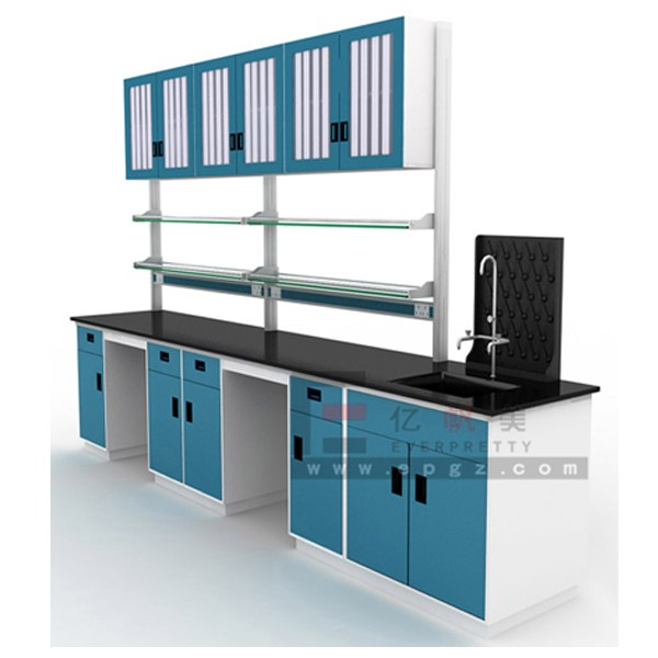 School Laboratory Bench,center Lab Bench Working Table,steel Legs Laboratory  Tables