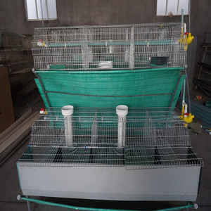 HM commercial metal wire rabbit cages