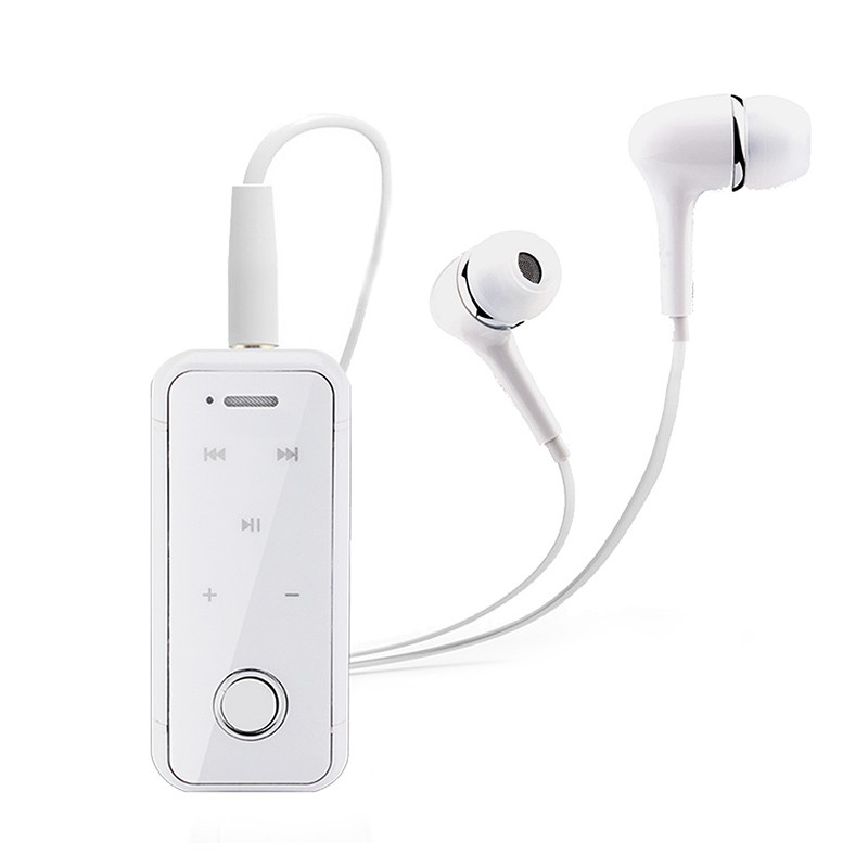 174 Original Anbes Bluetooth Headset ⑧ Clip Clip On Earphones