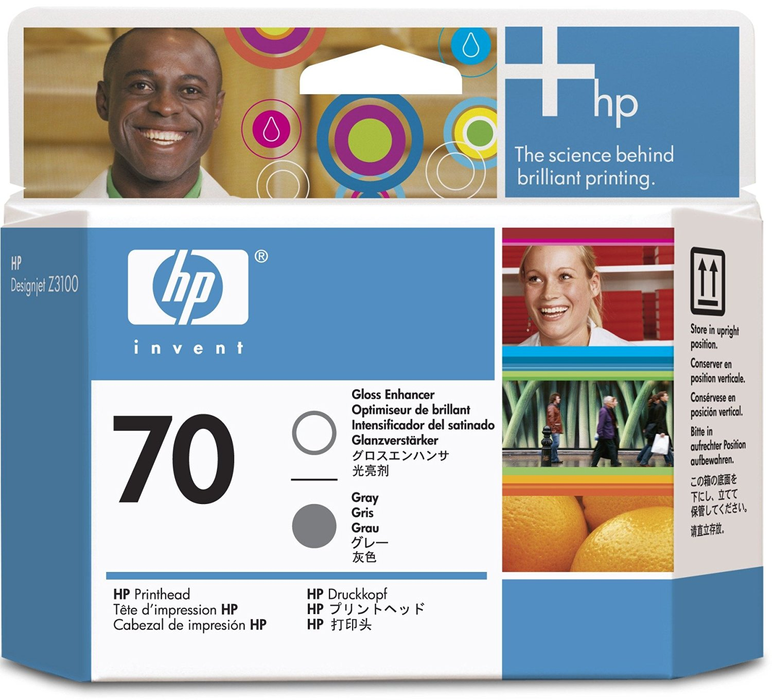 Cheap Hp Printhead Reset Find Deals On Line At 81 Yellow Designjet Dye And Cleaner Original Get Quotations 70 C9410a Gloss Enhancer Gray
