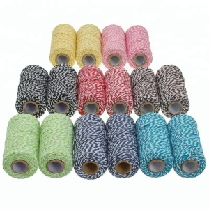 Free Samples 12 ply dia 2 MM Multicolor Spool Bakers Twine
