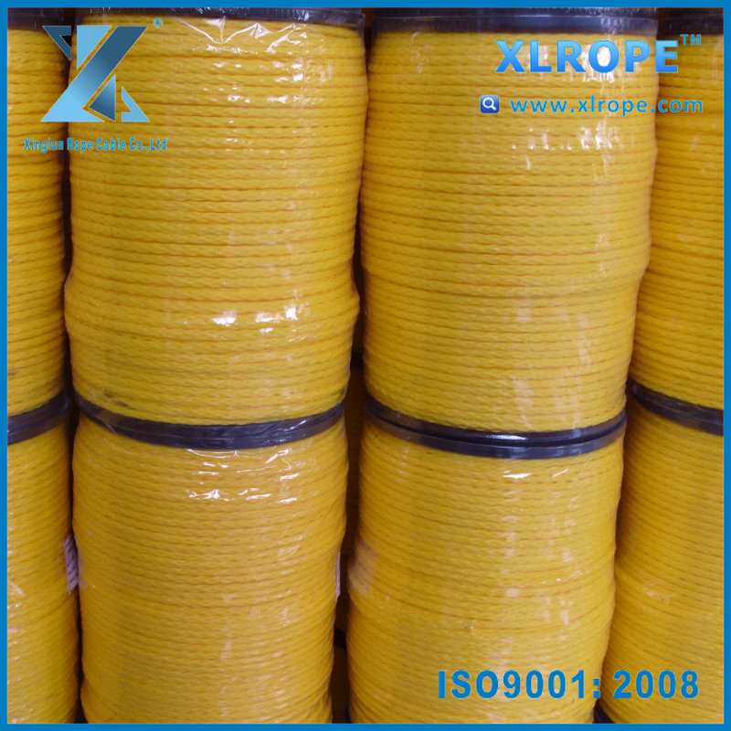 8 strand PE Hollow Braided Rope for boat
