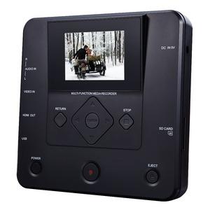 portable DVD media av recorder with AV-in