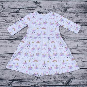 Fall toddler dresses boutique girls unicorn dress 51fbf11d46
