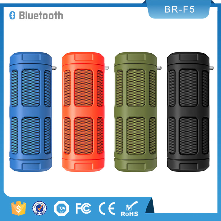 FM Radio BluetoothV4.0 Portable Power Bank Riding Speaker <strong>Bluetooth</strong> Wireless with TF Card