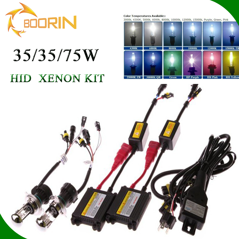 H4-3 HID conversion kit super luminosa factory price OEM H4-3 D1S D2S D3S 9007-3HB3 hid xenon bulb 35W55W75W bi xenon projector