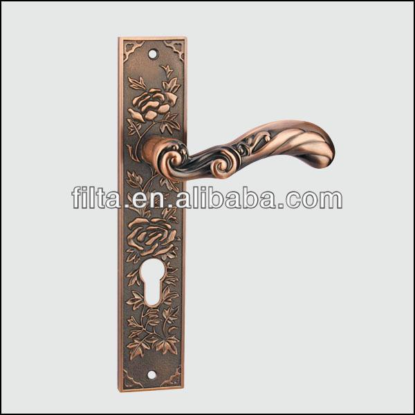 Offers Of China Style Zinc Alloy Door Lock Handles On Plate - Buy Door  Locks And Handles In Dubai,China Design Door Handle,Zinc Alloy Door Handle  On