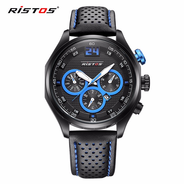 Longbo hot sale new design 3atm water resistant stainless steel back watch with alloy case custom logo watches