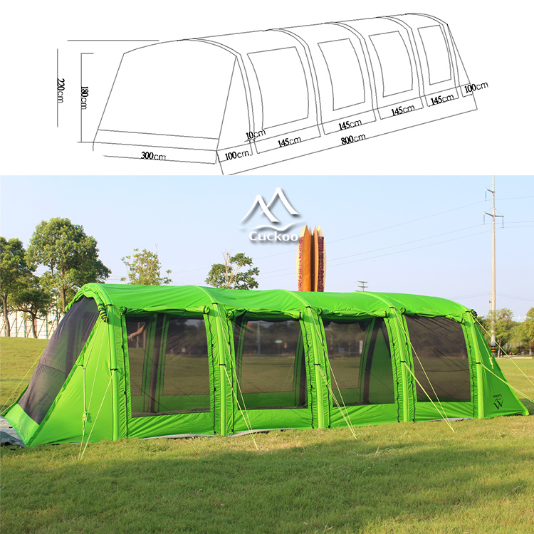 Extra large tunnel <strong>tent</strong> for camping,5+Persons Family <strong>Tent</strong>,Outdoor Inflatable <strong>Tent</strong>