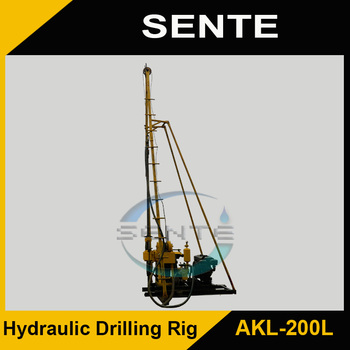 Best seller AKL-200L bore well drilling machine price