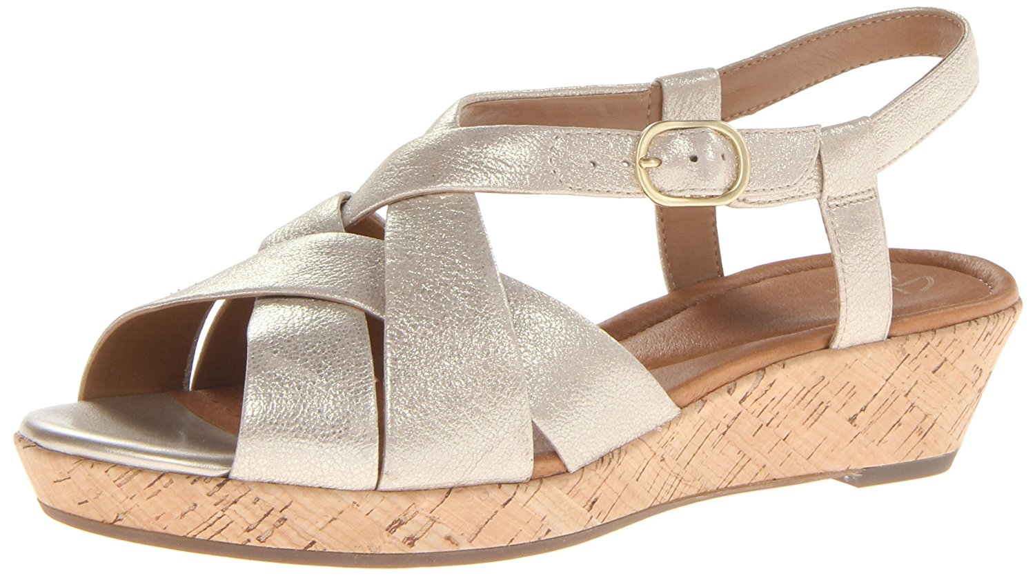 e7add34a83a Get Quotations · Clarks Women s Orlena Chutney Wedge Sandal
