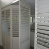 Wholesale cheap china blinds factory direct custom pvc security outdoor window venetian plantation shutters singapore