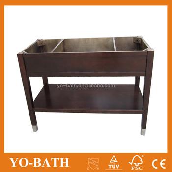 59 Wooden Free Standing Hotel Vanity Bathroom Base Yo