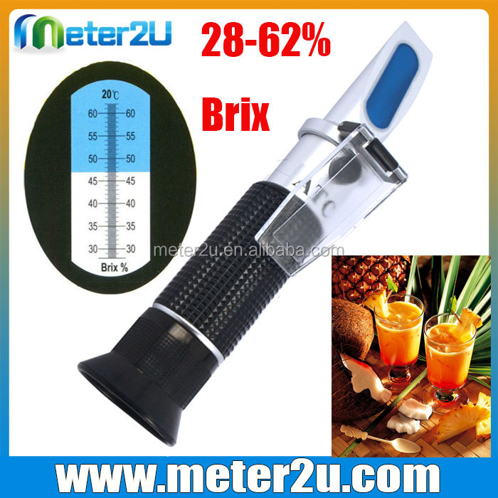 2016 newest Hand held refractometer sugar content test meter for sale