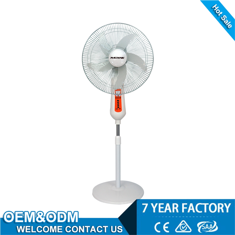 newest style l 16inch electric rechargeable rechargeable electric fan nepal/indian low price