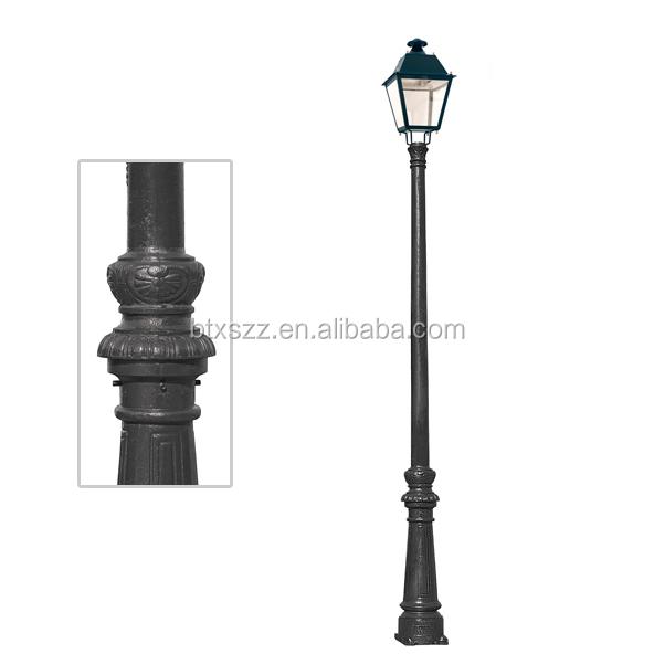 Decorative Light Poles used street lighting poles/lamp poles for street/decorative light