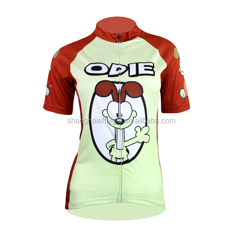 Full Zip Lady Cycling Jersey Snoopy Women S Cartoon Cute Cycling