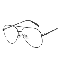 Factory 3156 optical spectacle metal frame student computer reading glasses adult fashion gafas Can match the glasses of myopia