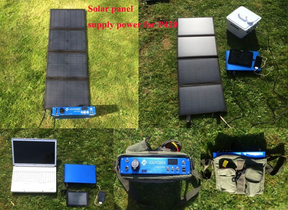 2019 Tren Produk Inovatif P420 300 W 250 W 404 W 100000 MAh Solar Battery Charger Power Bank