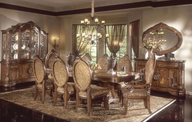 Excelsior Dining Room Set And Living Room Set By Aico