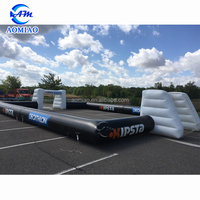 Quality assurance portable inflatable soccer field, inflatable football field, inflatable football pitch