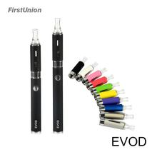 Top rated electronic cigarette 650 &1200 mah ego batteries e ciggarete evod mt3 blister kit