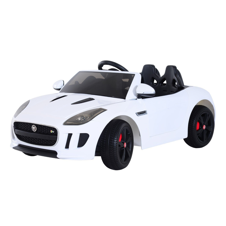 Get Quotations Licensed Jaguar F Type 12v Kids Battery Ed Ride On Car White
