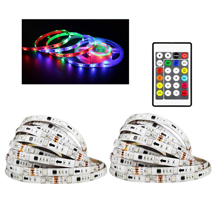 32.8 ft Addressable Programmable Color Changing LED Strip Wall Lights to Hang with Remote Magic for Stage Bedroom Living Room