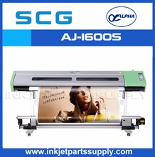 Alpha advertisement printing machine for eco solvent printing