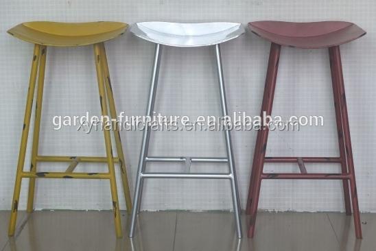 Moderno sgabello in metallo da cucina sgabelli da bar seggiolone