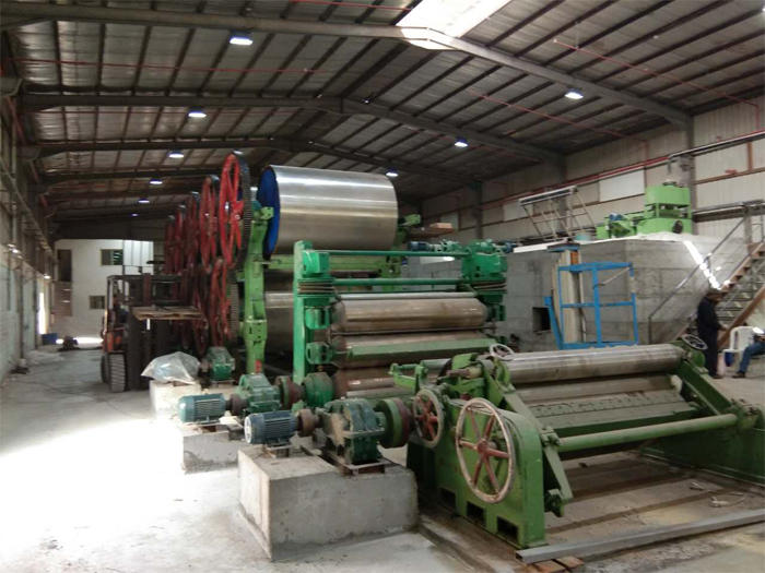 corrugated paper production line
