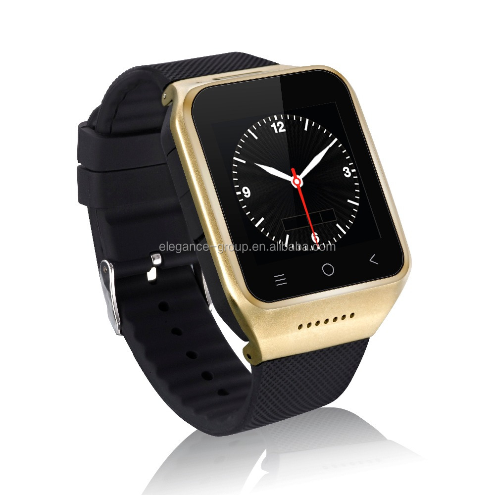 Elegance Android Watch Bluetooth Smart Watch Phone with SIM Card Slot/ TF Card Slot/Facebook/ Phone Book/ FM, etc