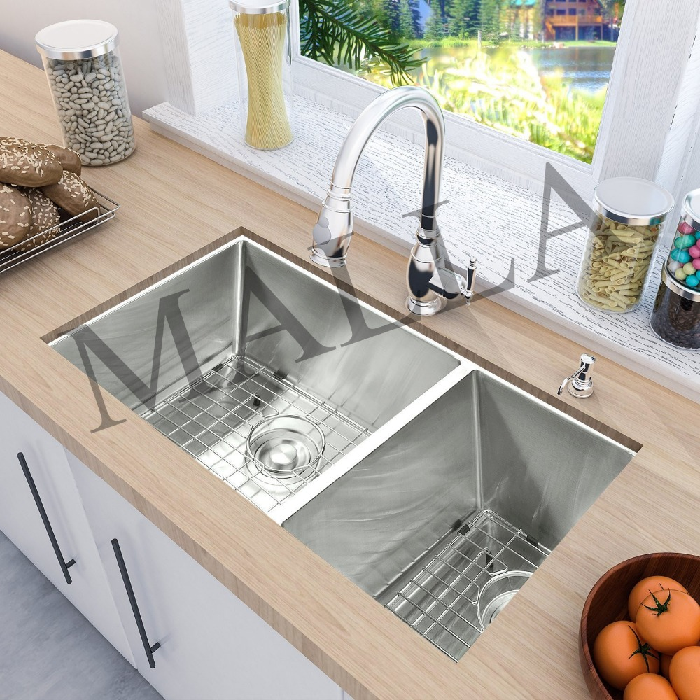 wholesale sri lanka double bowl stainless steel kitchen sink