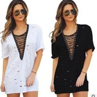 2017 Walson Vintage 2017 New Spring Summer Women Loose Bandage kaftan dress