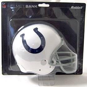 Indianapolis Colts Helmet Bank