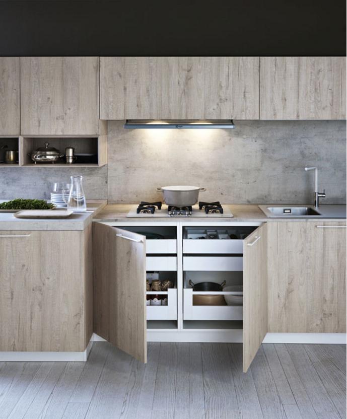 Cement Laminate Kitchen Cabinet Chipboard Kitchen Direct From China Buy Melamine Kitchen Cabinet With Island Kitchen Cabinets Direct From China Chipboard Kitchen Cabinet Product On Alibaba Com