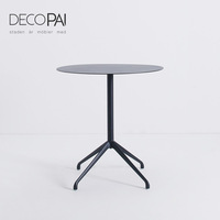 metal table aluminum base coffee table