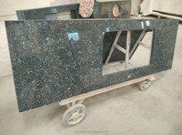 custom blue pearl laminate countertops/latest blue pearl granite bathroom vanity tops