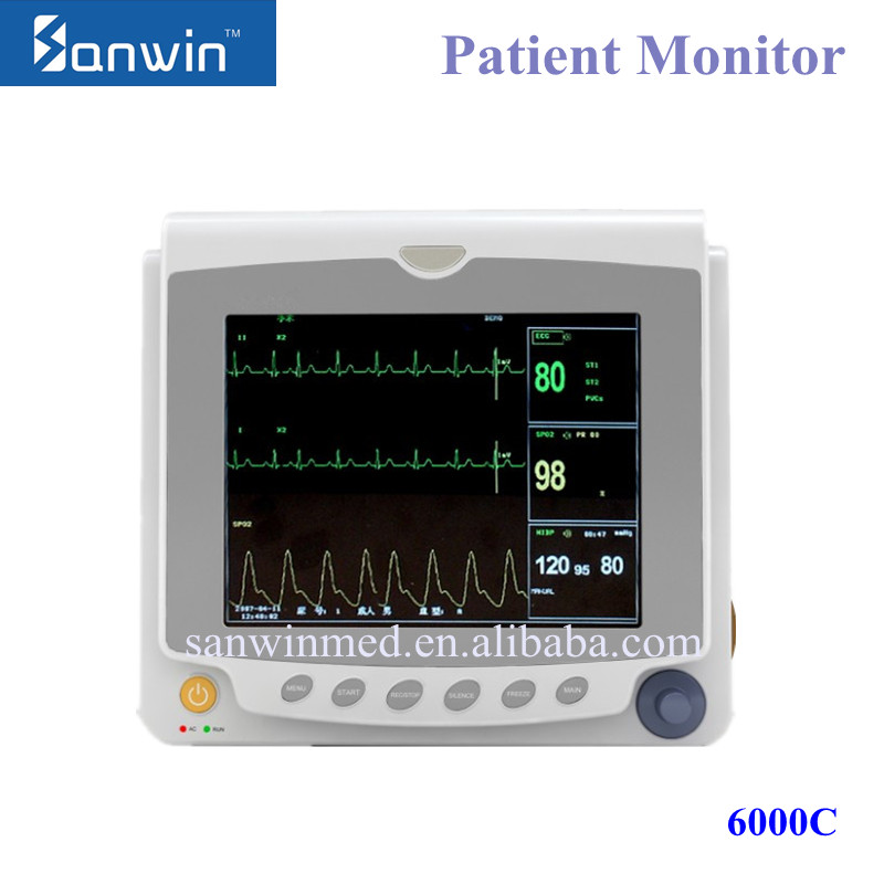 CE Approved Professional Portable Ambulance Patient Monitor Medical Supply