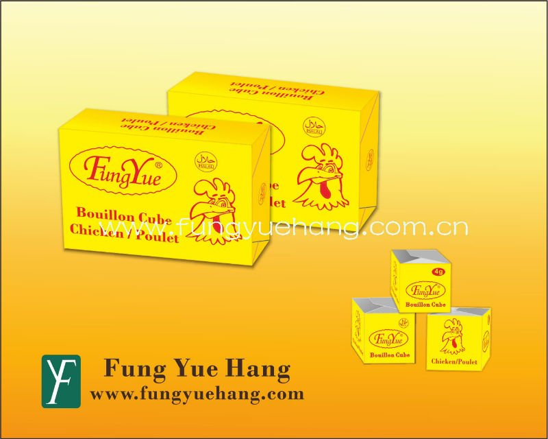 4g 10g HALAL Chicken Stock Cube