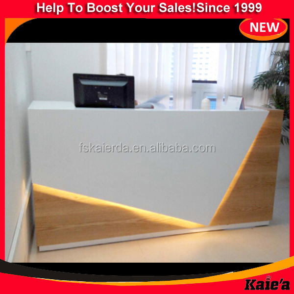 Fashion Wood Cash Counter Design,Shop Cash Counter Design With Led ...