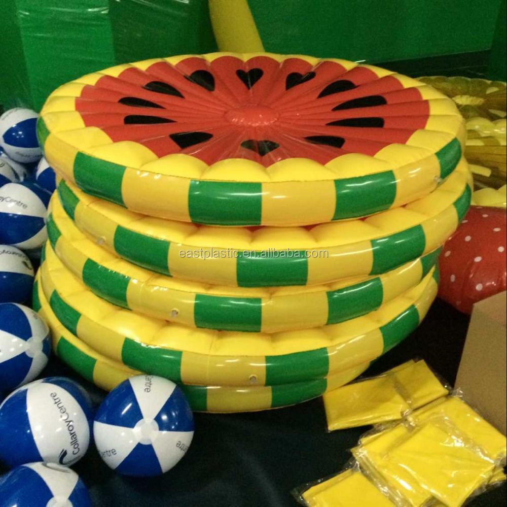 Inflatable Swimming Pool Fruit Slice Float Fun Island Lime