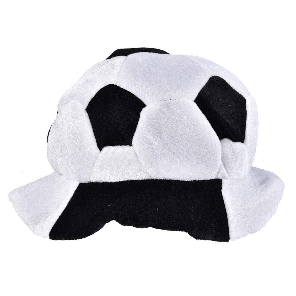 a472fdfaba5035 Get Quotations · Vbestlife World Cup Soccer Hats Fans Party Football Shape Hat  Soccer Match Cheering Cap, Multicolor