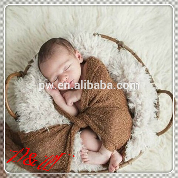 Top Selling Newborn Baby Rayon Wrap Baby Stretch Knit Wraps Baby