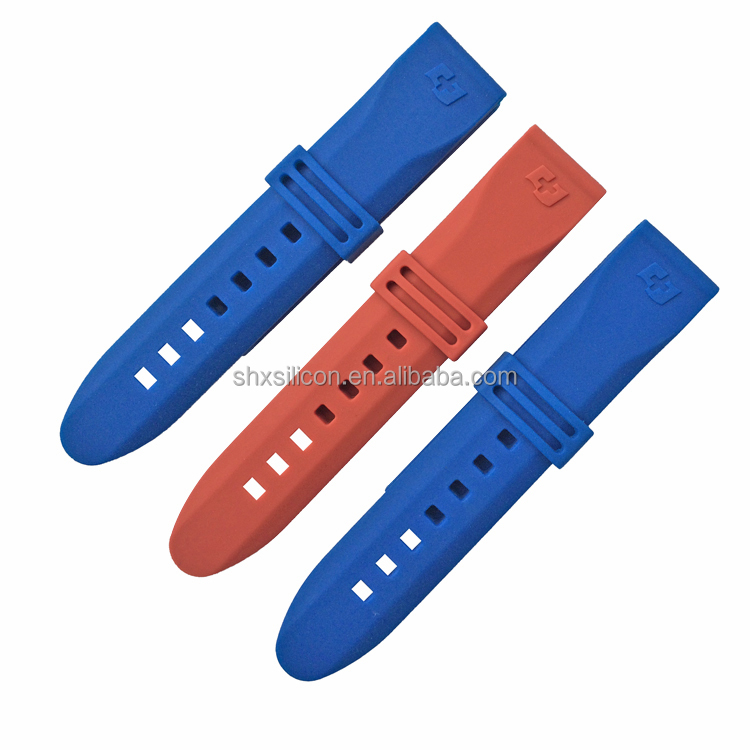 high-quality Switzerland flag 20mm silicone rubber watch bands wholesale