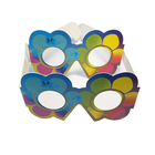 OEM Paper 3d Glasses With Rainbow Lens Paper Spectral Glasses Diffraction Glasses