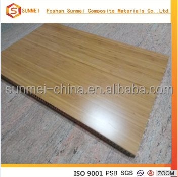 Bamboo Veneer fireproof osb eps sandwich wall panel from china maker