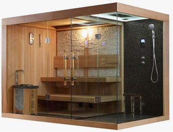 Maison Sauna traditionnelle sauna finlandais saunas avec harvia poêle pour maison
