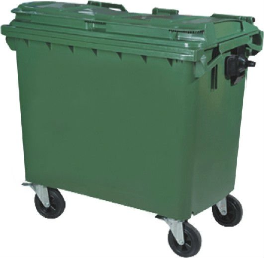 High quality trash can with Wheelie 660L